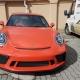 Porsche 911 kővédőzés